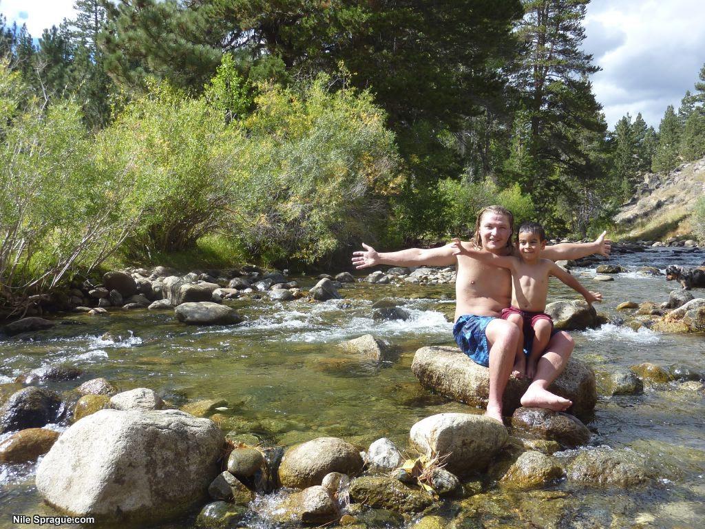 Mono Lake and Buckeye Hotsprings