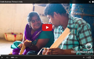 Video: Crafts Business Thrives in India – TechnoServe