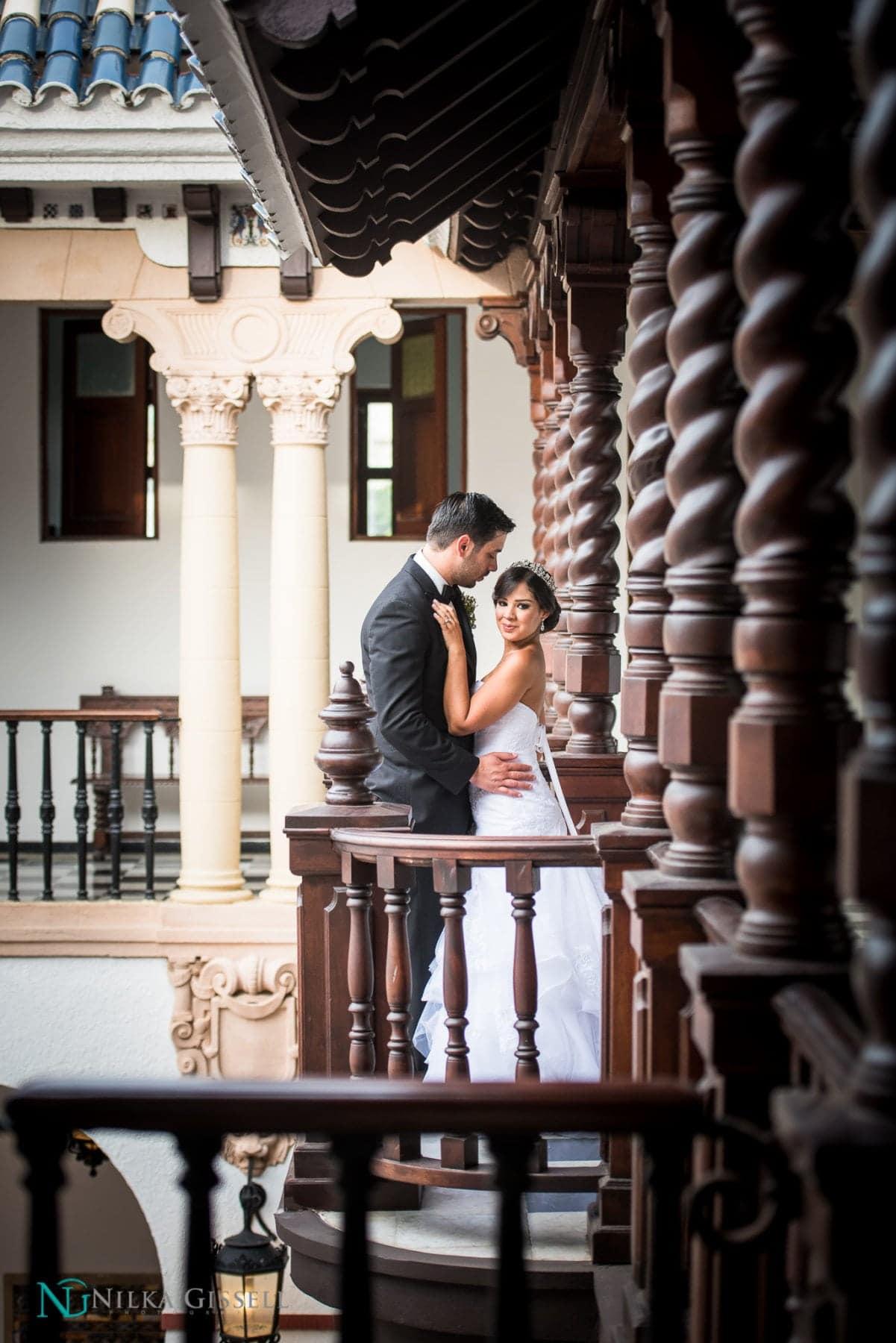 Wedding In Casa De Espa 241 A Old San Juan Puerto Rico