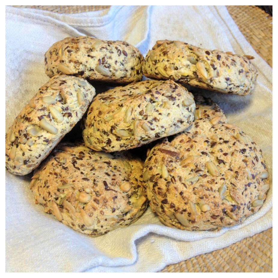 Fröbullar (allergivänligt, äggfritt, Paleo)