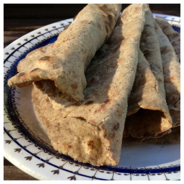 Tunnbröd med bovetemjöl (gluten, mjölk, ägg & sockerfria)2