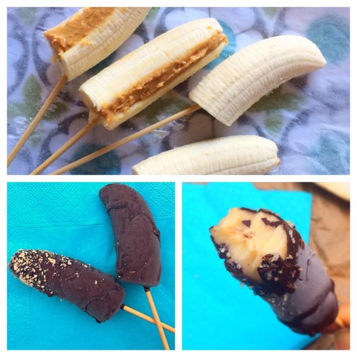 bananglasspinnar med choklad (mjölkfritt, paleo)