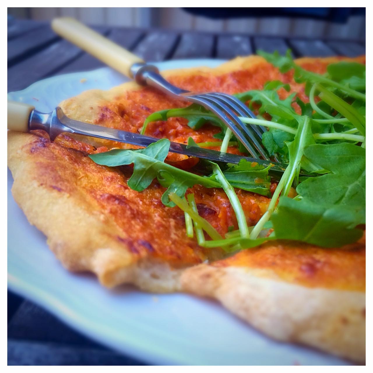 glutenfri pizzadeg utan jäst recept