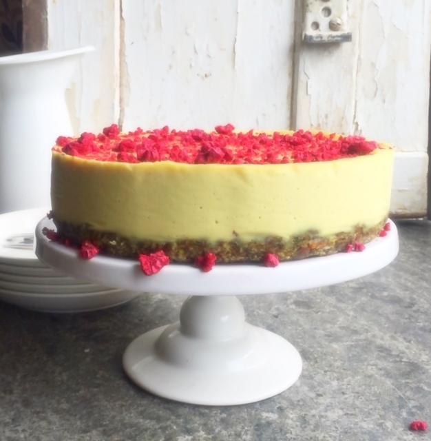 Raw citroncheesecake (vegan)