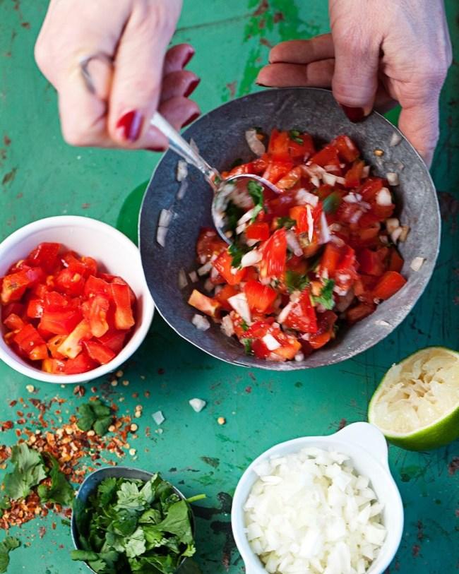Riktig mexikansk salsa