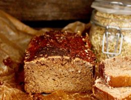 Groddat bovetebröd /sprouted buckwheat bread