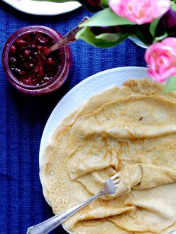 glutenfria tunna pannkakor naturligt glutenfritt
