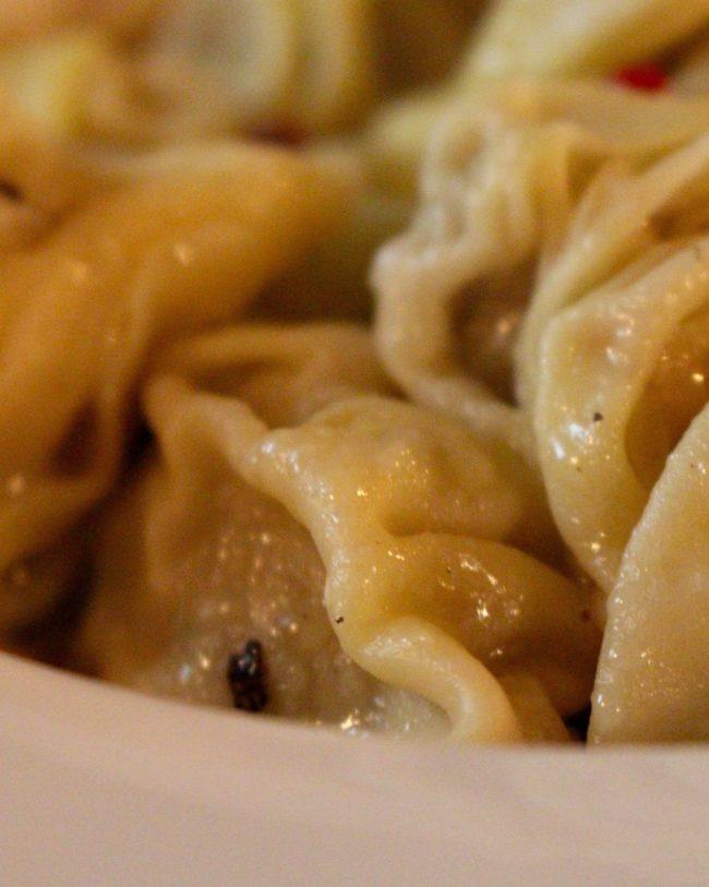 Georgiska dumplings - khinkali