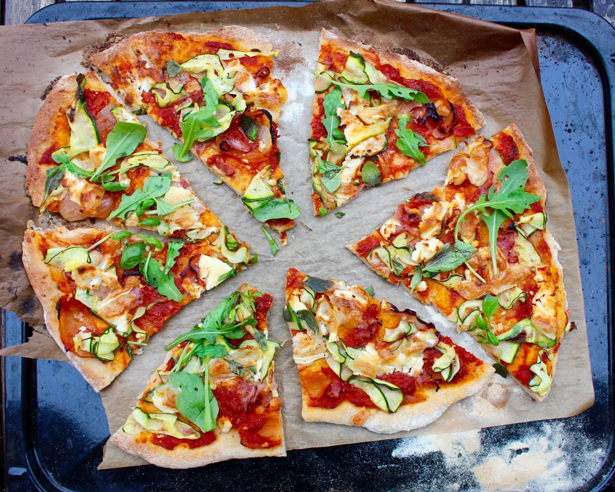 naturligt glutenfri pizzadeg