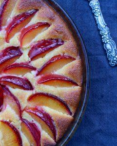 Plommonkaka med mandel och honung - naturligt glutenfri
