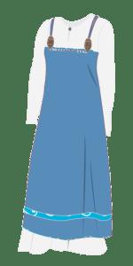 Apron dress / smokkr. Selekjole.