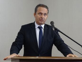 Campos anuncia nomes do PSDB no governo de Pernambuco (Foto: Luna Markman/G1)