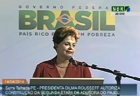 Dilma brinca :