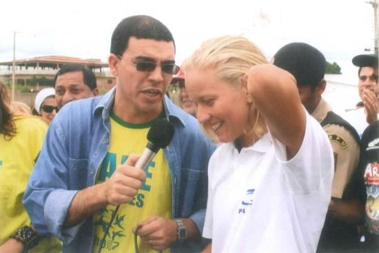 Yane Marques volta a Afogados após o primeiro ouro, no Pan de 2007, no Rio