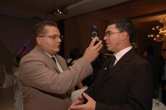 Com Wellington Rocha - Prêmio Asserpe 2009