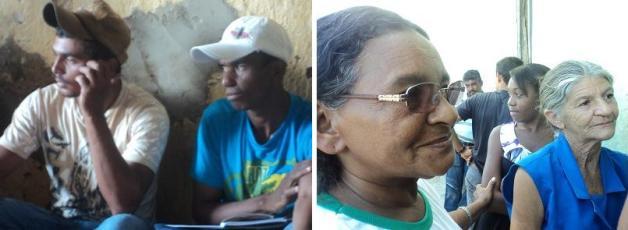 Comunidade vive da agricultura familiar e está ameaçada. Pessoas como Luciano e Dona Lourdes, que moram no assentamento