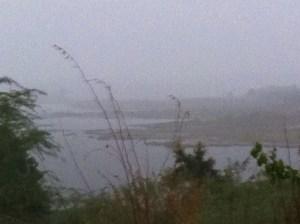Brotas recebendo chuvas: barragem é uma das que estão precisando