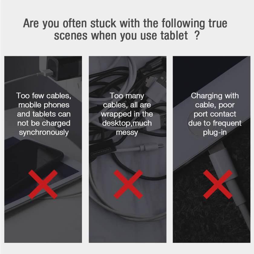Nillkin Magic Tags Plus Wireless Charging Receiver for Apple iPad
