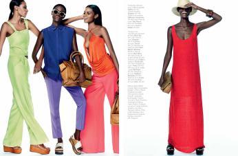Produção de Moda editorial 'Jogo de Balanço' - Marie Claire Fev/2015