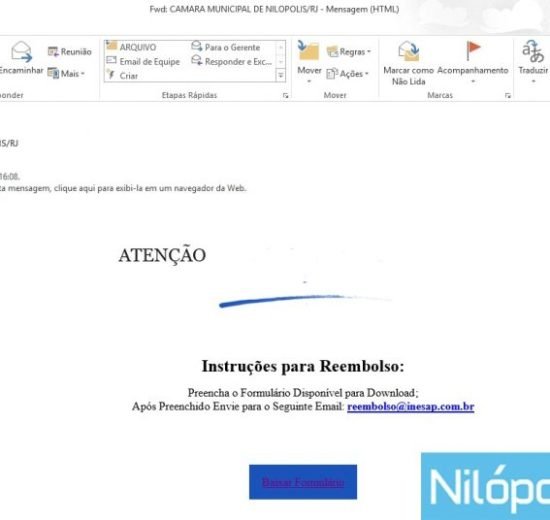 EMAIL GOLPE