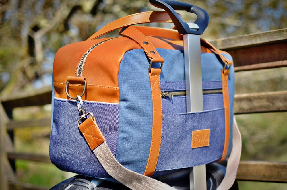 Nils & Emi sac week-end glissière valise