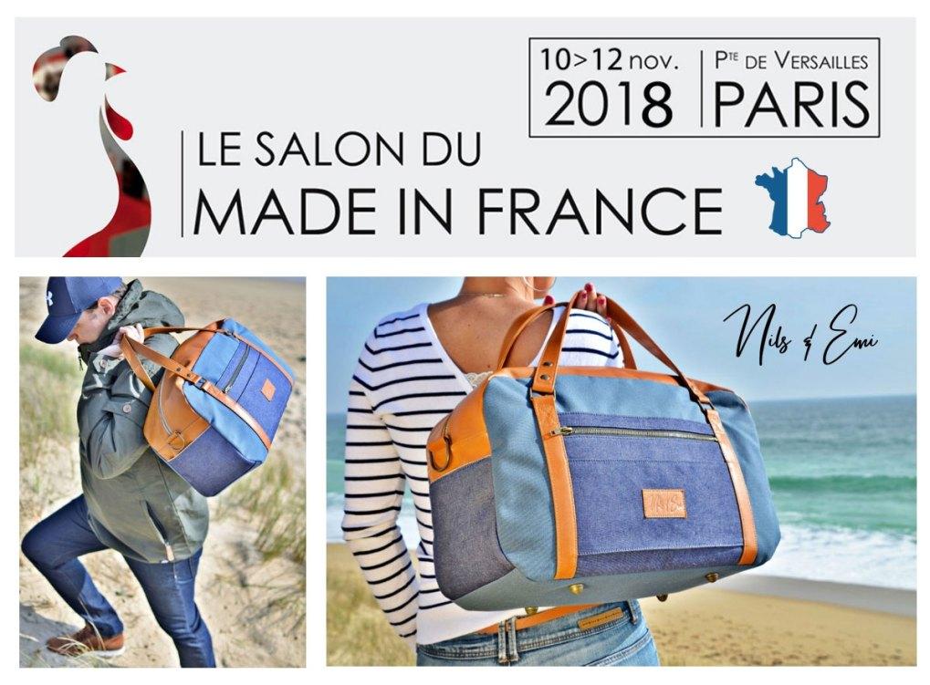 Nils & Emi au salon du Made in France à Paris