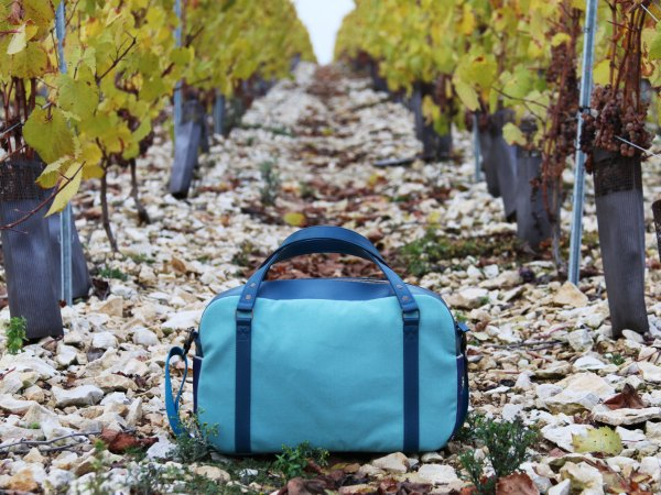 Nils & Emi sac cabine sac baroudeur made in france lagon