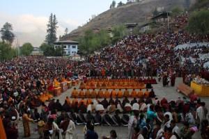 Bhoutan, festival de Paro