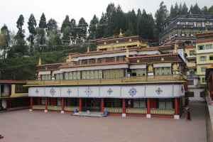 près de Gangtok, le monastère de Rumtek
