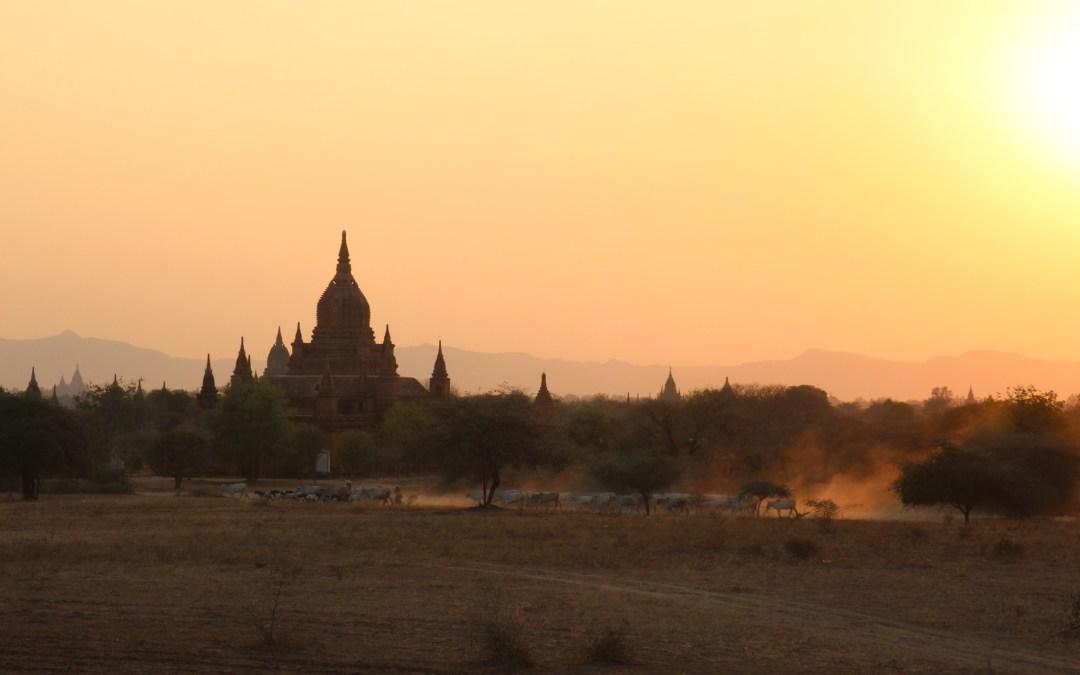 Birmanie étape 3: de la charmeuse Bagan à l'embouteillée Yangon