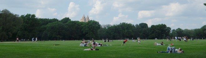 New York, Central Park, the great lawn