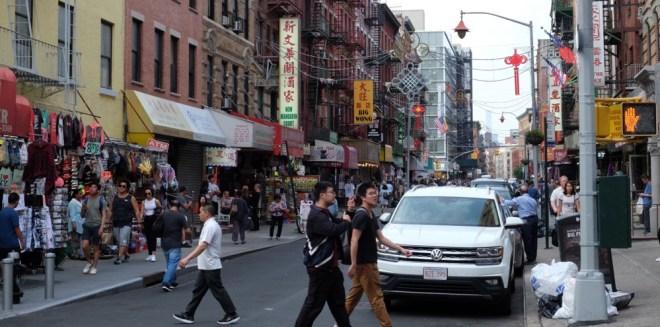 China Town, New York City