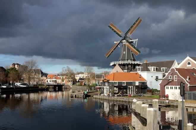 Haarlem, moulin de Adriaan