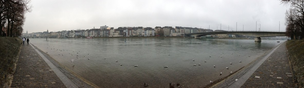 Water under the brigde Basel