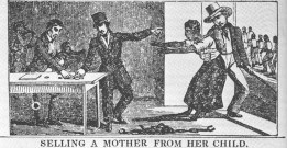 הפרדת ילד מאמו - סחר העבדים האטלנטי