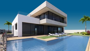New construction project: Luxury villa in Adeje