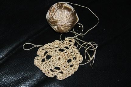 Andani- Crochet Pouch on proggress 1