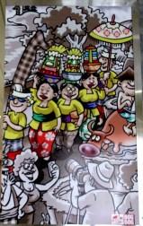 Airport Ngurah Rai Cartoon 9