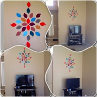 Paint Chip wall art!!