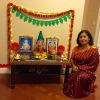 Saree and Pallu set for Lakshmi Deity!