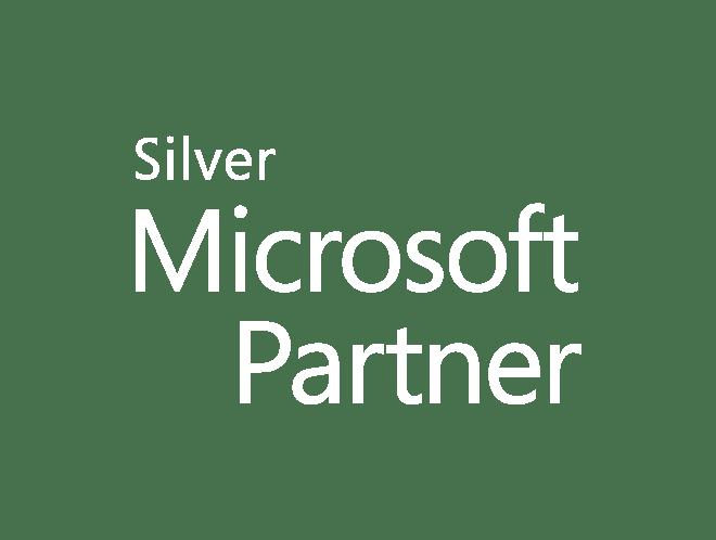 White Silver Logo Small