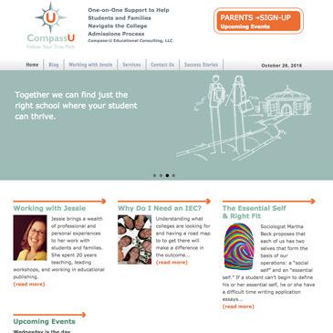 College Admissions advisor website