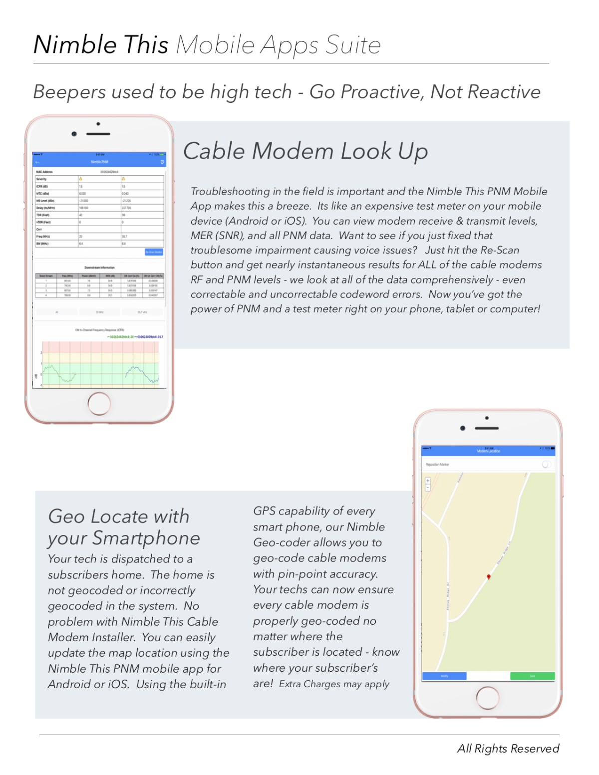 PNM Geo Locate with your smartphone   geo-code cable modems