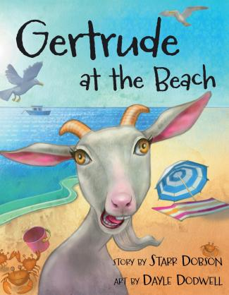 Gertrude at the Beach