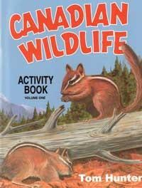 Canadian Wildlife Activity Book : Vol 1