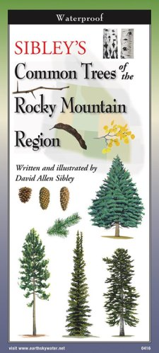 Sibley's Trees of Rocky Mountain Region-Folding Guide