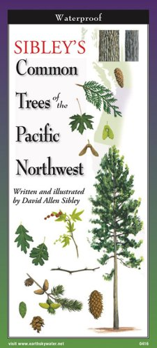 Sibley's Trees of Pacific Northwest -Folding Guide