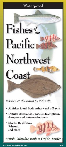 Fishes of Pacific Northwest Coast -Folding Guide