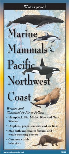 Marine Mammals of the Pacific Northwest Coast – Folding Guide