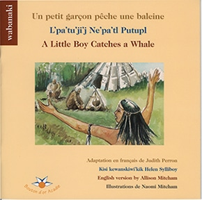 Little Boy Catches a Whale